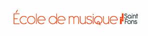 Logo ecole de musique saint fons